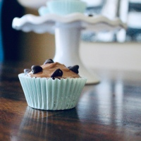 Chocoholic Cupcakes with Nutella Ganache