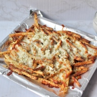Greek Fries with Tzatziki Sauce